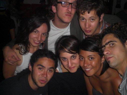 Javier, Pau, Cecilia, Diego, Ana, y Santiago
